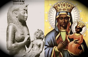 Original Mary, Isis (Ast ) Ancient Egypt