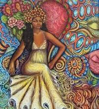 Oshun. Goddess of Love, Sensuality, Dance, Music, Pleasure