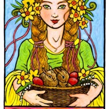 Goddess Eostre (Easter)