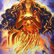 Pele-Rainbow Fire Goddess