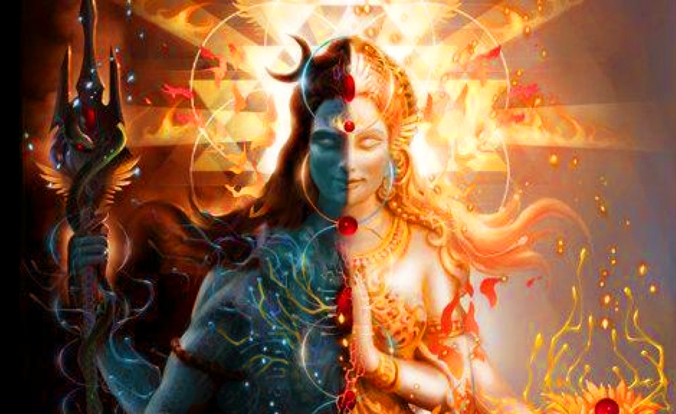 Shiva (God) and Shakit (Goddess)